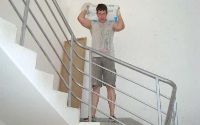 Предложение: Подъем стройматериалов на этаж, грузчики