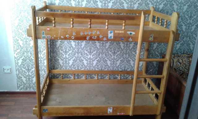 Продам Детская двухъярусная кровать