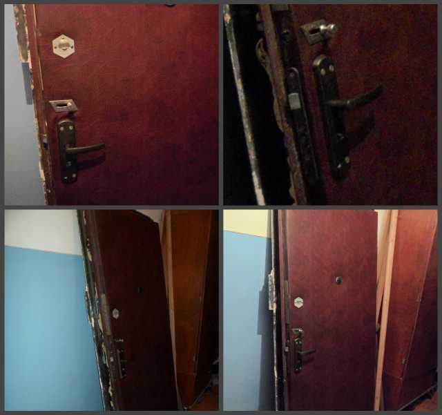 Продам: Железная дверь.