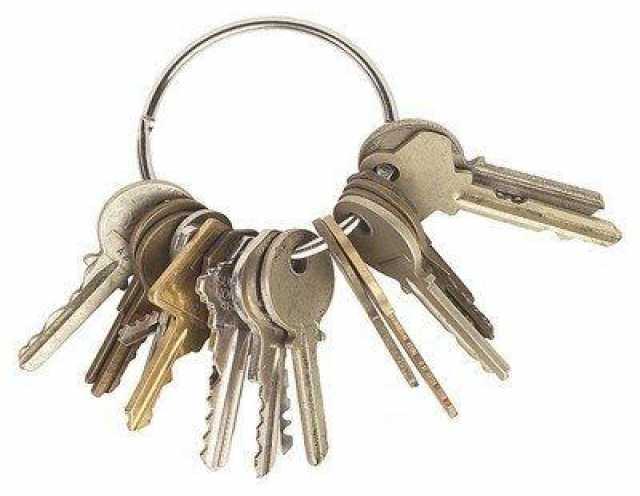 Приму в дар Ключи от различных замков