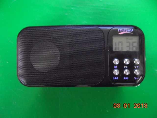 Продам радио+мп3 плеер,HI RICE HJ-92