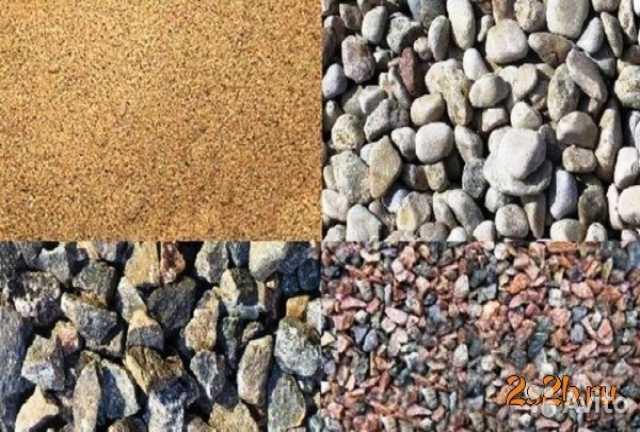 Продам Песок, гравий, щебень, грунт, ПГС и др.
