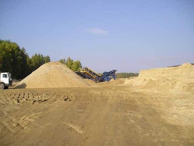 Продам Песок всех фракций с доставкой от 1 т.