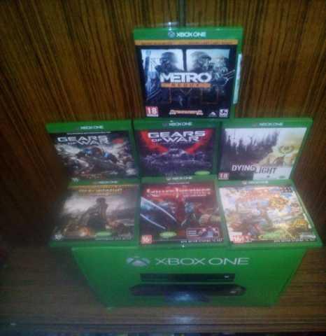 Продам xbox one 500gb+7 игр хиты