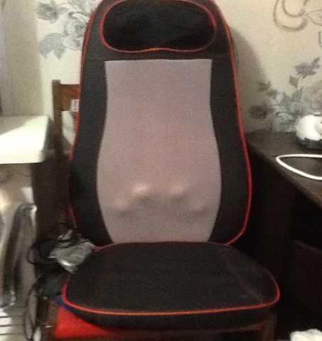 Продам массажная накидка на кресло