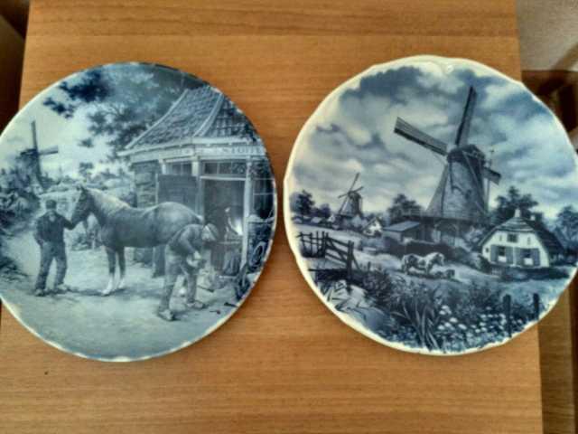 Продам Тарелки интерьерные, Delft,Голландия
