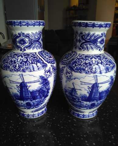 Продам Парные голландские вазы delft