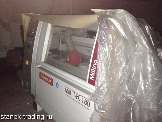 Продам б/у Фрезерный станок, T-FC 180 TURANLAR
