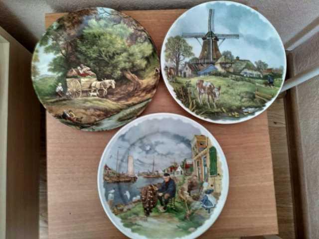 Продам Интерьерные тарелки, Голландия