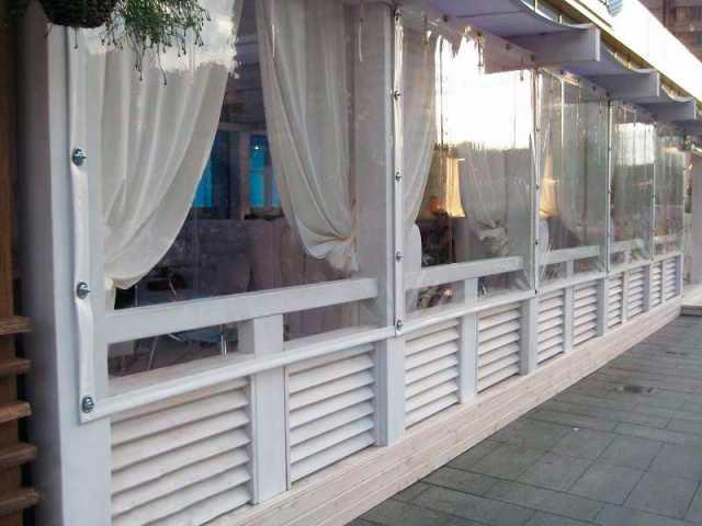 Продам шторы на беседки гибкие окна мягкое стек