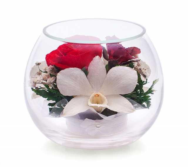 Продам Композиция из  роз и орхидей (арт. BmiM-