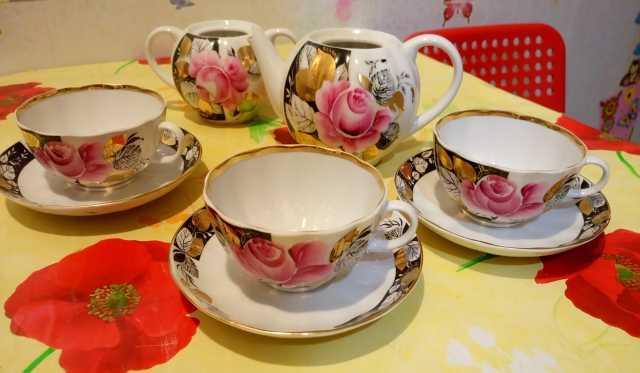 Продам Остатки сервиза чайного Вечер в саду ЛФЗ