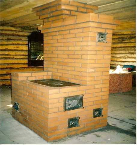 Предложение: печь за 2 дня.ремонт,чистка старых.