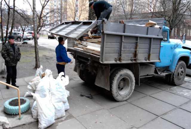 Предложение: Вывоз мусора, погрузчик, самосвал 24часа