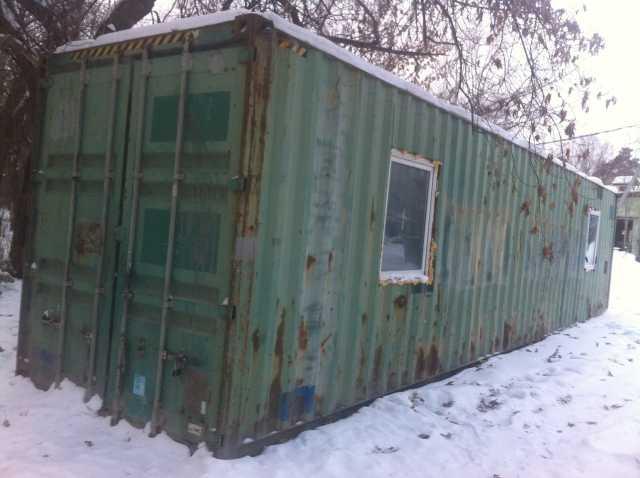 Продам Бытовка 12 метровая из контейнера