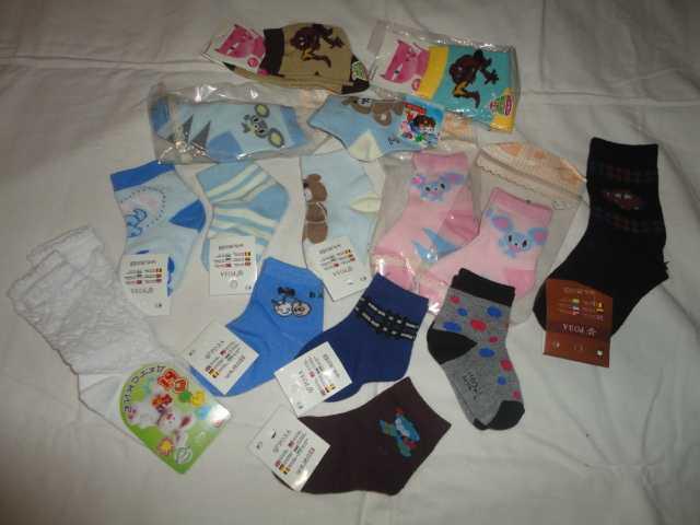 Продам Носочки детские новые размер на 2 - 6 ле