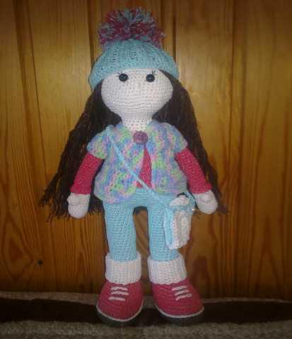 Продам Вязанная крючком кукла Стеша
