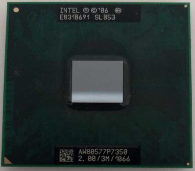 Продам Ноутбучный Core 2 Duo P7350