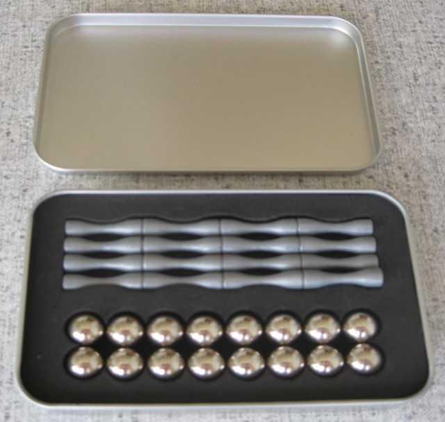 Продам: Магнитный конструктор. 16 палочек и 16 ш