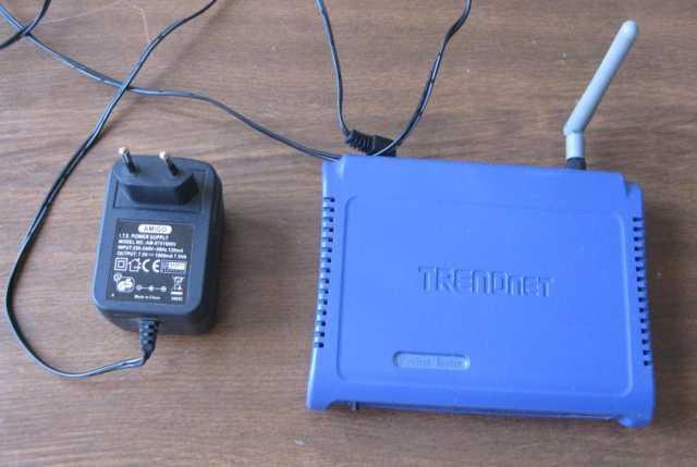 Продам Роутер Trendnet TEW-432BRP с сетевым ада