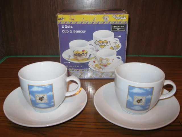 Продам: Набор чайных кружек фарфоровый в подароч