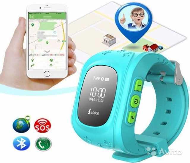Продам Детские часы с GPS-трекером Smart Baby W