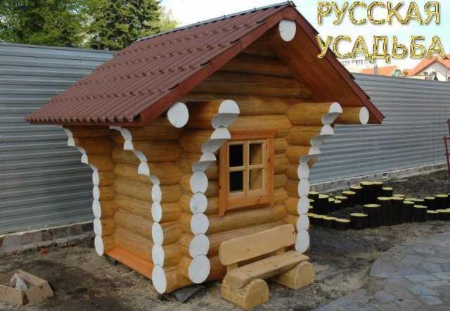 Продам Детские игровые домики из бревна