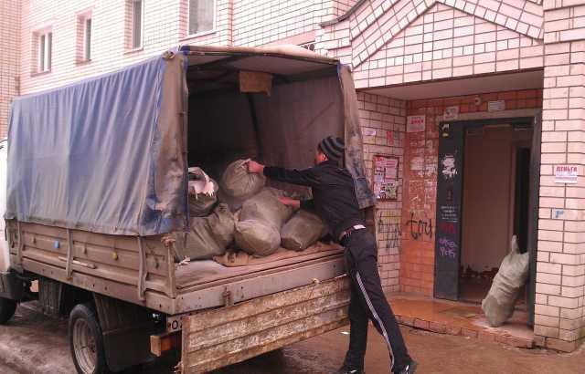 Предложение: Вывоз мусора и мебели Газелью на свалку