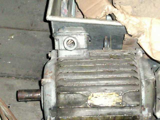 Продам Продам трехфазный двигатель
