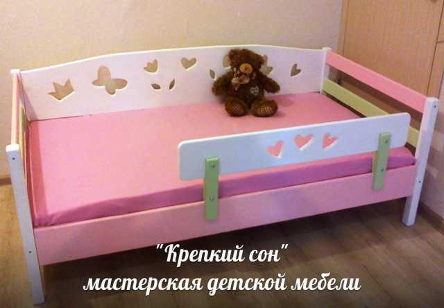 Продам Кровать детская из массива сосны.