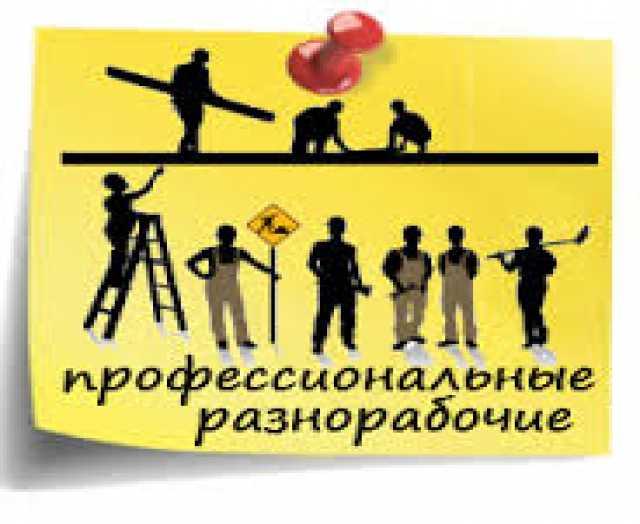 Предложение: Услуги разнорабочих без выходных