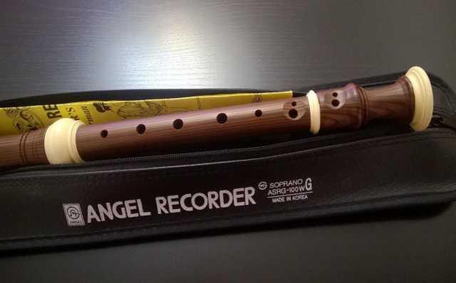 Продам Флейта Angel Recorder Soprano asrg-100W