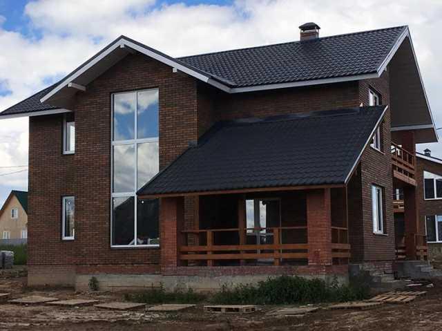 Предложение: Загородный кирпичный дом построим
