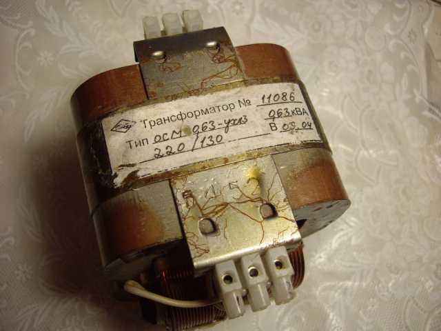 Продам Трансформатор ОСМ1 - 0.63УХЛ3 - на130 во