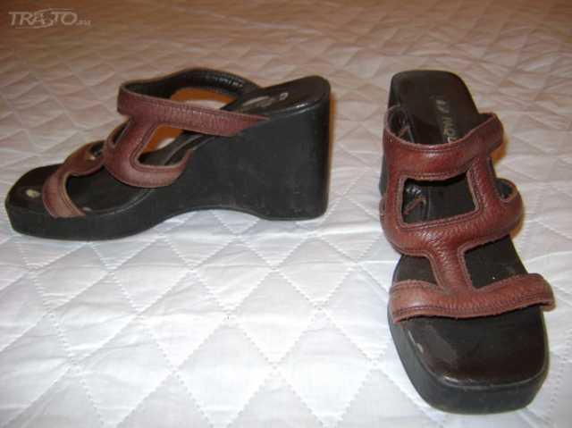 Продам туфли-сабо лето кожа 38