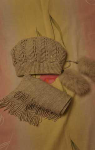 Продам шапкп и шарф