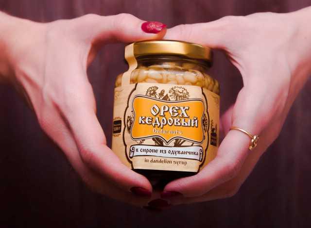 Продам Кедровый орех в сиропе