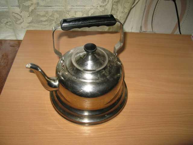 Продам чайник из нержавейки СССР