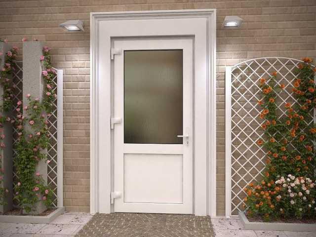 Продам Алюминиевая входная дверь