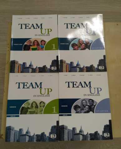 Продам учебники Team UP in English
