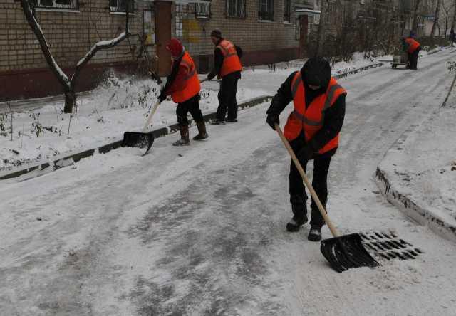 Предложение: Чистка снега разнорабочие