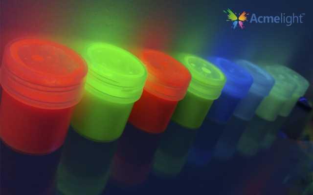 Продам Набор светящихся красок из 8 цветов