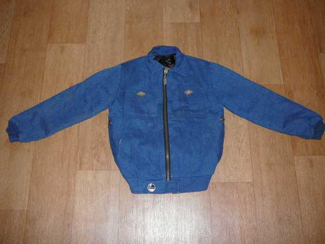 Продам Новая теплая джинсовая куртка, зимняя и