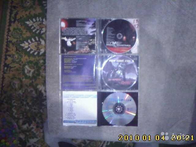 Продам Компакт диски