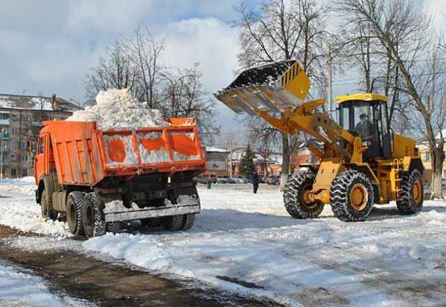 Предложение: Механизированная чистка снега