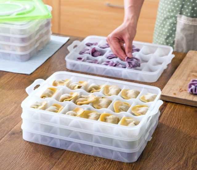 Продам Емкость для хранения пельменей Dumpling