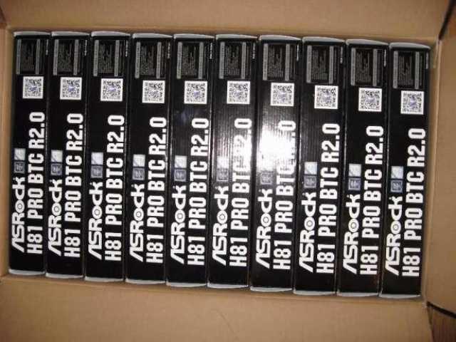 Продам ASRock H81 Pro BTC R2.0 и risers