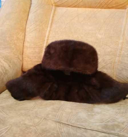 Продам шапку  мужскую норковую новую