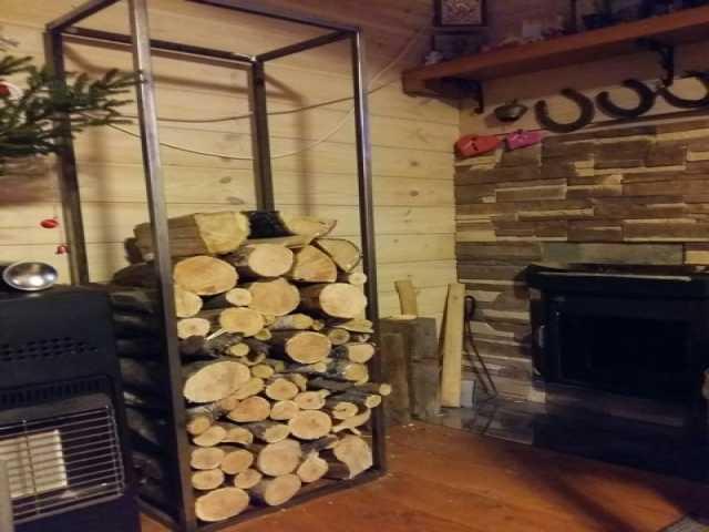 Продам: Стойка для дров дровница поленница