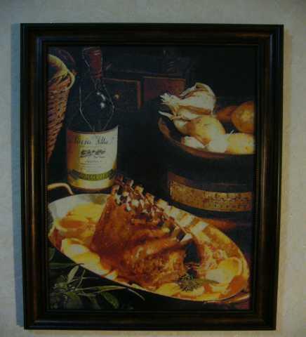 """Продам Картина """"Вино с мясом"""""""
